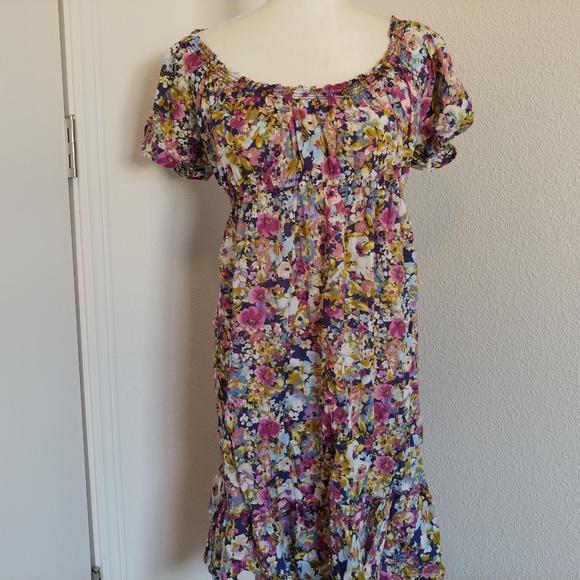 LOFT Dresses & Skirts - Loft, lightweight multi-color floral dress
